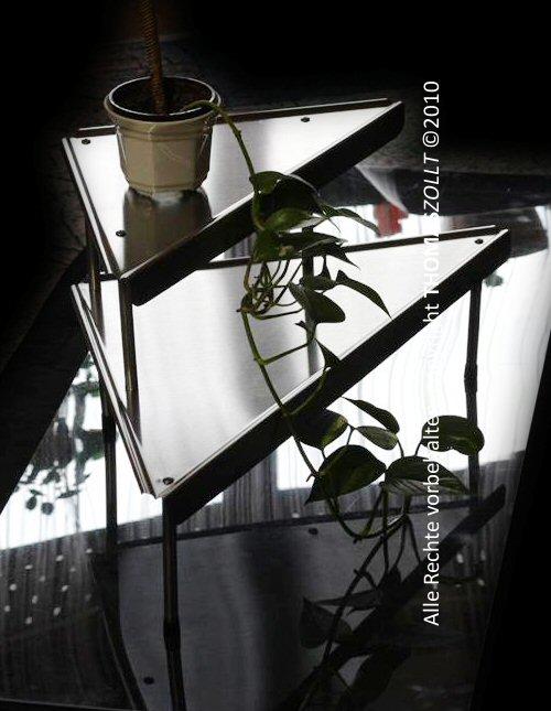 edelstahl eckregal f r k che bad oder werkstatt regal ebay. Black Bedroom Furniture Sets. Home Design Ideas